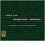 Recording of Works by Unsuk Chin